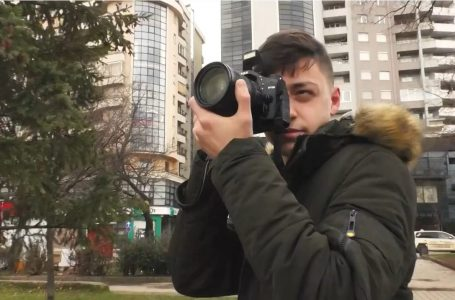 14 vjeçari Driton Lluhani me pasion të madh për fotografinë