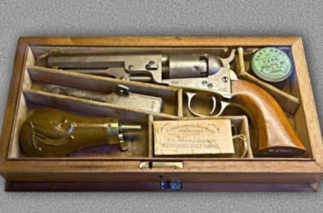 Pistoleta me pesë fishekë e shpikur para 185 vjetëve