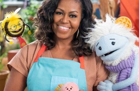 Michelle Obama me emision për fëmijë në Netflix
