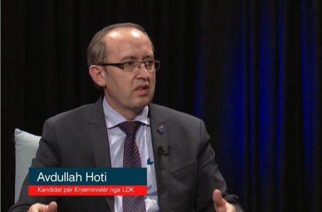 Avdullah Hoti, kandidat i LDK-së për Kryeministër