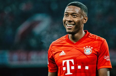 David Alaba i jep lamtumirën Bayernit
