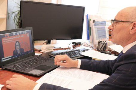 Ministri Nitaj merr pjesë në lansimin e Raportit Global të Zhvillimit Njerëzor në Kosovë