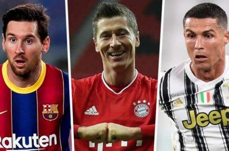 Këpuca e Artë 2020/21: Garë e ashpër nga top golashënuesit në Evropë