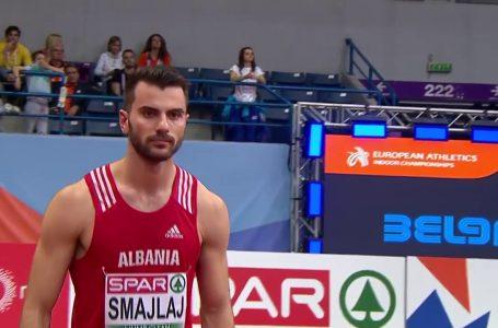 Atleti shqiptar, Izmir Smajlaj merr medaljen e artë në mes të Beogradit
