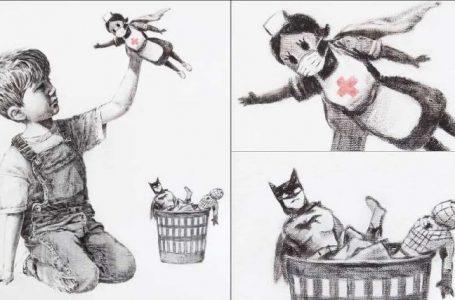 Çmim rekord shitjeje për një vepër Banksy
