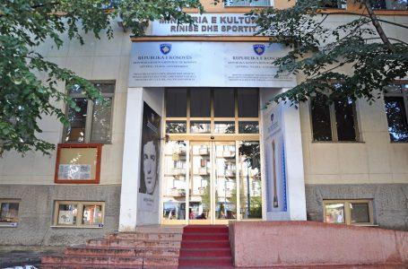 Ministria e Kulturës anulon thirrjet për mbështetje financiare