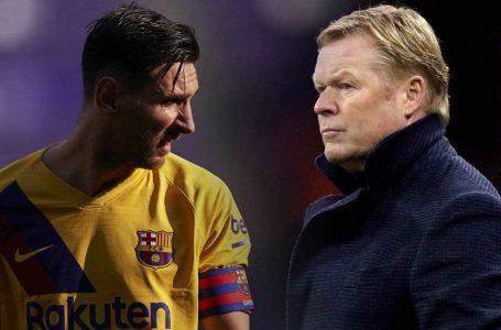 Oferta e PSG-së për Messin, flet Ronald Koeman