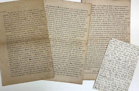 Publikohen dorëshkrimet, vizatimet dhe letrat personale nga Franz Kafka