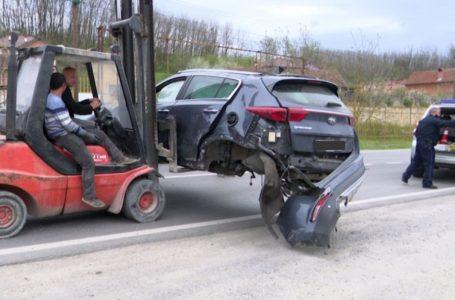 5 të lënduar, aksident në Leshan të Pejës (video)