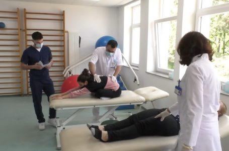 Reparti i fizioterapisë bëhet me objekt të ri