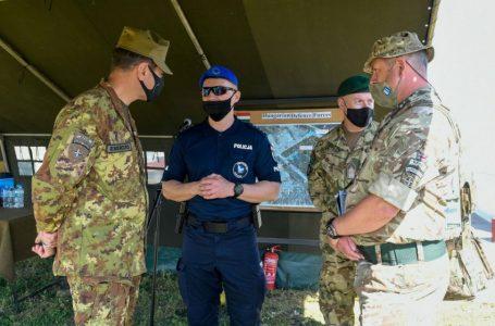 EULEX-i dhe KFOR-i në stërvitje të përbashkëta për kontrollimin e turmave dhe trazirave