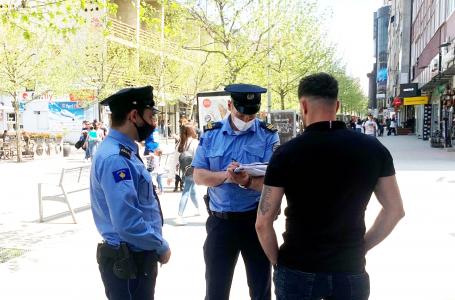 Policia shqipton mbi 2 mijë gjoba për shkelje të masave kundër COVID-19