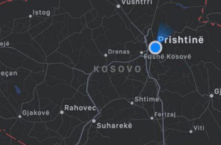 Apple Maps, nga gjuha serbe i kthen në gjuhën shqipe emrat e lokacioneve të Kosovës