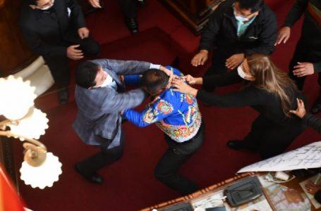 Parlamenti në Bolivi kthehet në ring boksi (Video)