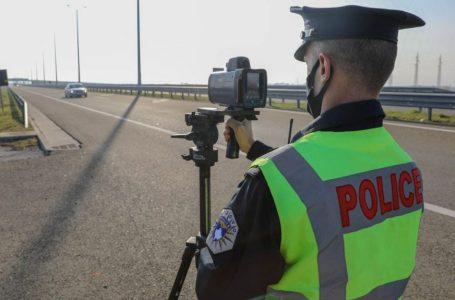 Mbi 500 shoferë janë dënuar për mosrespektim të shpejtësisë