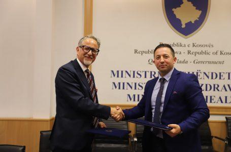 Ministria e Shëndetësisë dhe ajo e Mbrojtjes nënshkruajnë marrëveshje