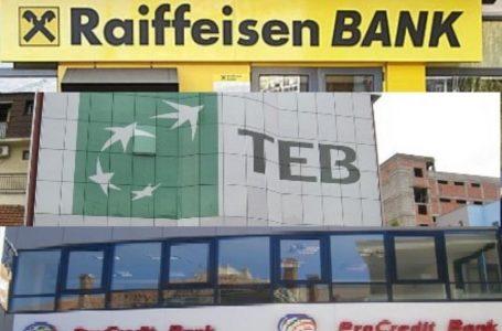 Bankat komerciale në Kosovë me shërbimet më të shtrenjta në rajon