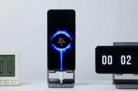 Xiaomi me mbushës baterie për tetë minuta