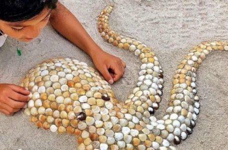 Artistja që krijon skulptura nga guacat e detit