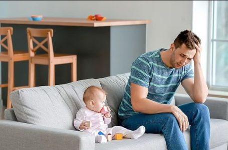 Edhe baballarët vuajnë nga depresioni pas lindjes së grave, sipas një studimi