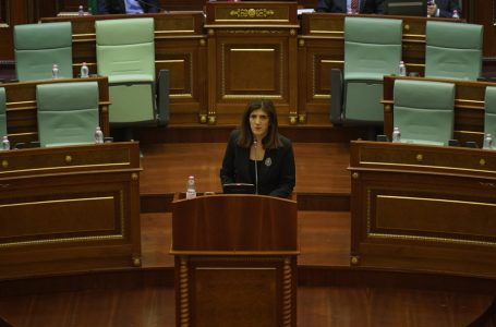 Musliu: Ministrat të jenë më të përgjegjshëm, të jenë të pranishëm në seancë
