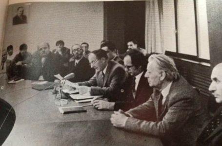 Rexhep Qosja, Ibrahim Rugova e Idriz Ajeti në një fotografi të vetme