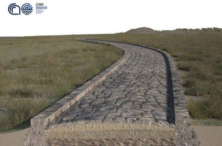 Një rrugë e lashtë romake zbulohet në fund të lagunës së Venecias