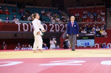 """Distria Krasniqi shënon fitore në Lojërat Olimpike """"Tokio 2020"""""""
