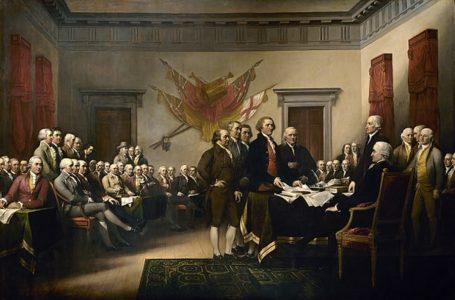 """""""Deklarimi i Pavarësisë"""", piktura e famshme kushtuar 4 Korrikut"""