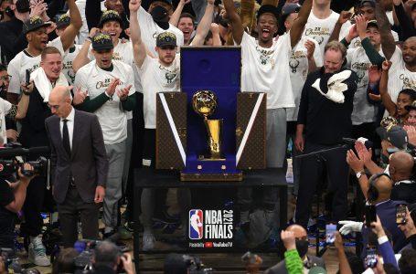 Pas 50 vitesh Milwaukee Bucks kampionë të NBA