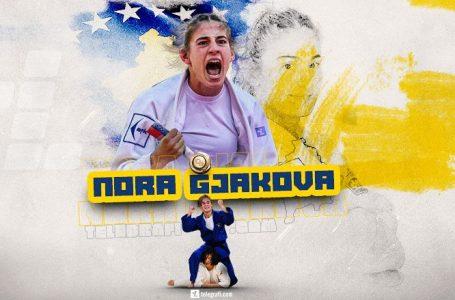 Ekipi i xhudos po shkruan histori, Nora Gjakova na sjell një tjetër medalje