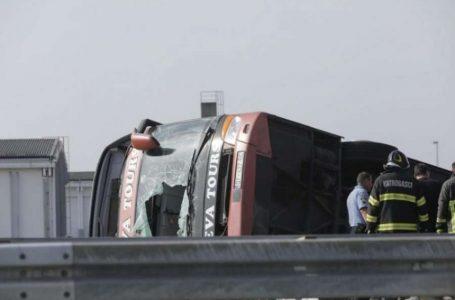 Si duket aktualisht autobusi që u mori jetën 10 mërgimtarëve kosovarë