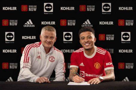 Manchester United zyrtarizon transferimin e Jadon Sancho