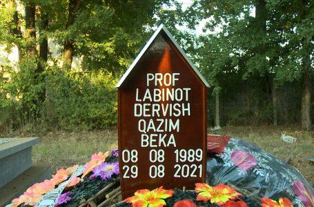 Mes lotëve e dhimbjes, varroset Labinot Beka