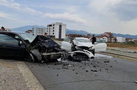 Aksident në fshatin Qerim, 8 të lënduar