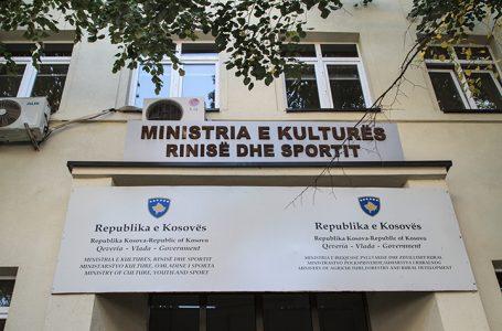 Ministria ndan 5 milionë € për kulturë, rini e sport
