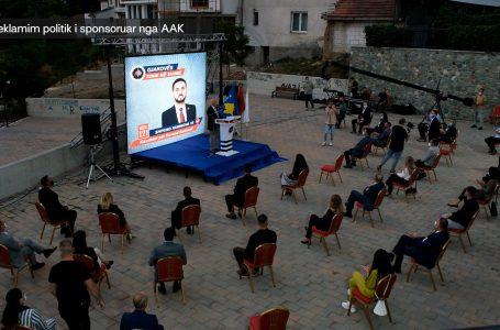 AAK zyrtarisht hap fushatën zgjedhore në Gjakovë-KRONIKË ZGJEDHORE