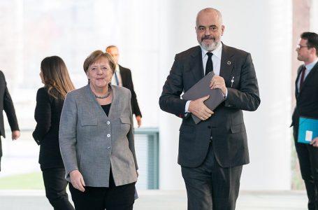 Kancelarja, Angela Merkel sot qëndron për vizitë në Shqipëri