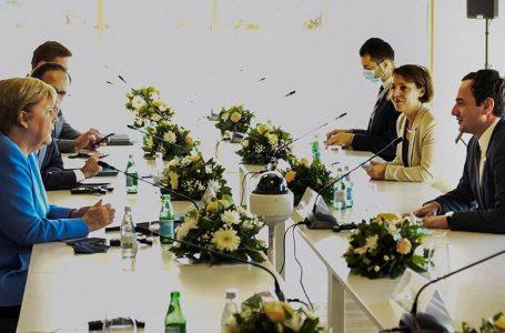 Gërvalla: E bëmë të qartë para Merkelit se Kosova s'kthehet para vitit 2008
