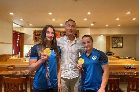 KOK shpërblen me nga 10 mijë euro kampionet olimpike, Distria Krasniqi dhe Nora Gjakova