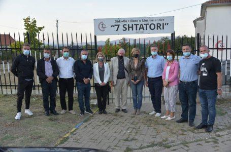 Lëvizja Vetëvendosje viziton fshatrat Damjan, Gërqin dhe Lipovec