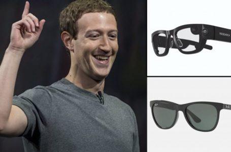 Zuckerberg prezantoi syzet e zgjuara të diellit të bëra nga Facebooku dhe Ray-Ban