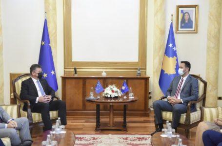 Lajçak dhe Konjufca, diskutojnë për ecurinë e dialogut Kosovë – Serbi