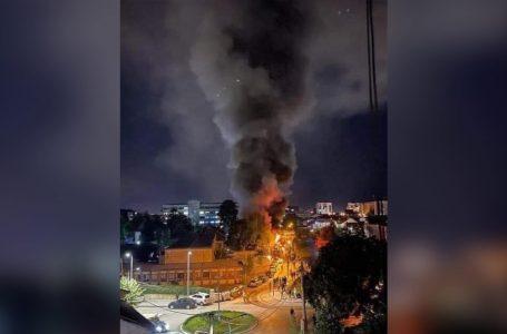 Zjarr në Spitalin e Tetovës, dyshohet për së paku 10 viktima