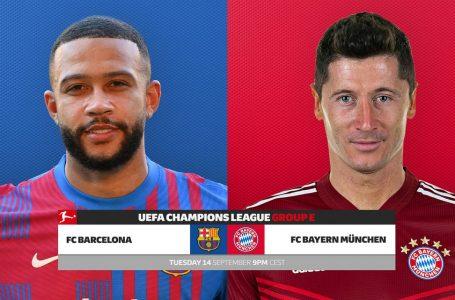 Barcelona – Bayern, formacionet e mundshme