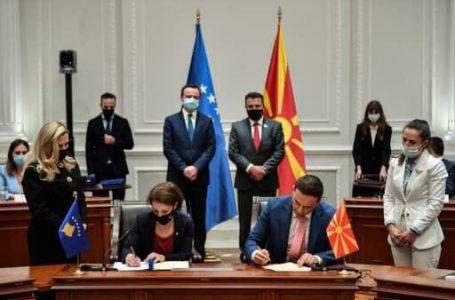 Gërvalla dhe Osmani nënshkruajnë marrëveshje për bashkëpunim të diasporës së Kosovës dhe Maqedonisë së Veriut