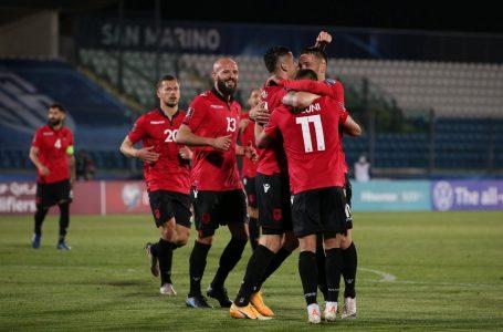Formacioni i mundshëm i Shqipërisë kundër Polonisë