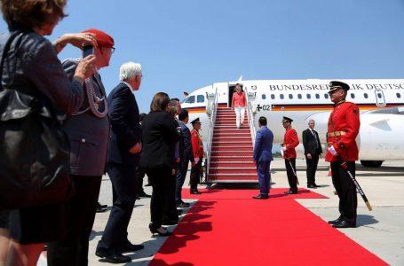 Kancelarja Merkel arrin në Tiranë