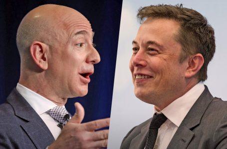 Elon Musk tejkalon sërish Jeff Bezos pasi aksionet e Amazon ranë me 0.5%
