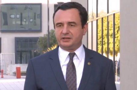 Kurti sqaron deklaratën për hapjen e arkivave të UÇK-së